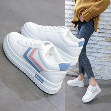 little white shoes 2020 new women s shoes korean version of the trend of wild breathable sports casual shoes spring and autumn White Shoes Female Super Fire Street Shoes, Spring 2020) New Korean Version of the Wild Breathable Students Casual Shoes