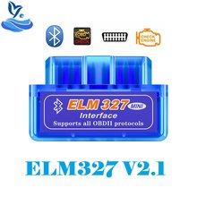 Obd2 v2.1 mini elm 327 bluetooth scanner automático elm327 leitor de código bluetooth para android symbian pc elm 327 ferramenta de diagnóstico do carro