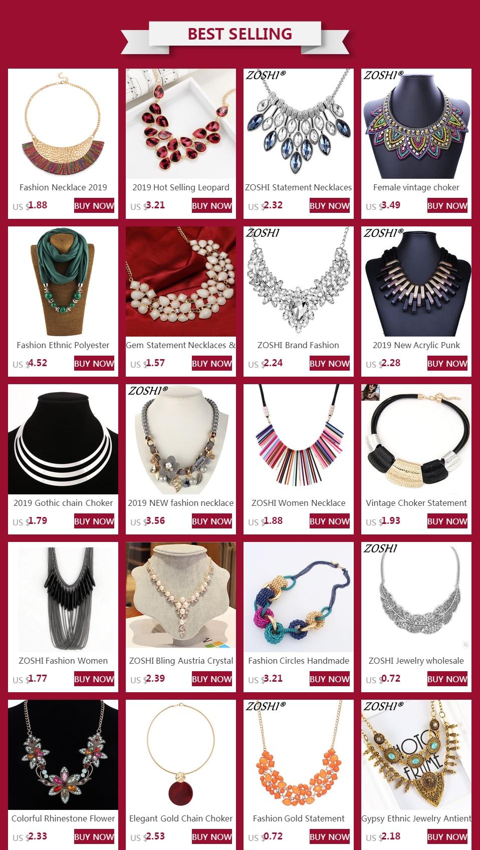 Female vintage choker pendants&necklaces big boho necklaces ethnic bohemian jewelry statement tribal Colorful bijoux femme mujer 4