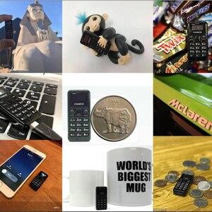 Image 2 - 5 단위 Zanco T1 전화 소형 전화 2G Zanco 작은 T1 세계의 가장 작은 전화 (각 구입에 자유로운 선물) 구매하십시오 5는 1 개를 위해 자유롭게 얻습니다