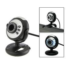 HD 12,0 MP 6 светодиодный USB веб-камера Компьютерная камера с микрофоном для настольного ПК Компьютерная периферийная система Новая акция