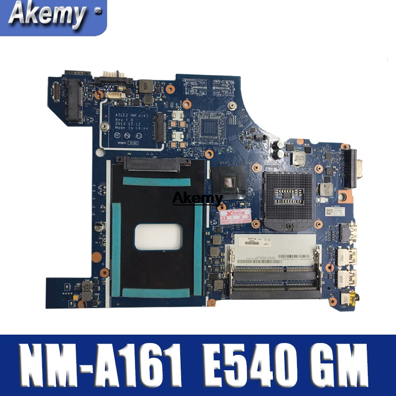 NM-A161 Motherboard For Lenovo Thinkpad AILE2 NM-A161 Edge E540 Motherboard PGA947 DDR3L 100% Tested