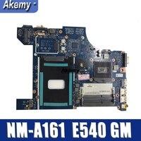 NM A161 Motherboard para Lenovo Thinkpad AILE2 NM A161 Borda PGA947 DDR3L E540 Motherboard 100% testado|Placas-mães| |  -