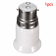 B22 To E27 Anti-burning Lamp Holder Converter Base Adapter Screw Led Socket Light Bulb Durable(China)