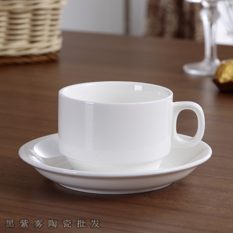 White Simple Ceramic Coffee <font><b>Cup</b></font> Spoon Porcelain Chinese European Luxury Mug Kahve Fincan Takimlari Ceramic <font><b>Coffe</b></font> <font><b>Cup</b></font> Set FF70C6 image