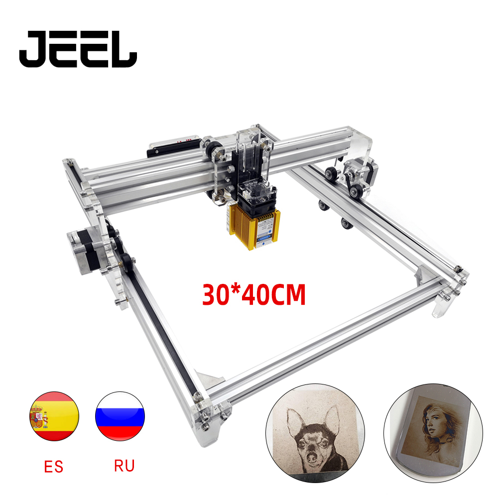 0.5W/2.5W 5.5W /15W GRBL CNC Laser Engraving Machine 30*40cm S1 Working Area Wood Router Laser Cutter /Printer/+Laser Glasses