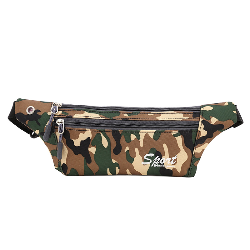 Outdoor Sport Waist Bag For Both Men And Women Casual Running Tactical Waist Pack Waterproof Mobile Phone Waist Bag