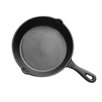 Cast Iron Non-Stick Skillet Frying Pan for Gas Induction Cooker Egg Pancake Pot Kitchen Dining Tools Cookware-14Cm