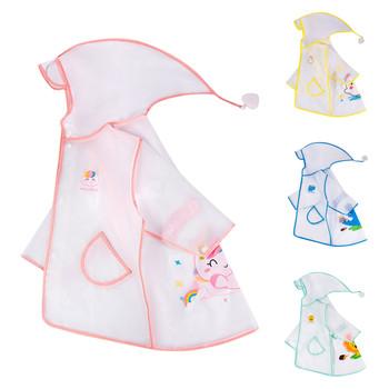 Płaszcz przeciwdeszczowy dla dzieci dla dzieci chłopcy dziewczęta płaszcz przeciwdeszczowy z kapturem wodoodporny płaszcz przeciwdeszczowy płaszcz przeciwdeszczowy oddychający płaszcz przeciwdeszczowy dla dzieci L3 tanie i dobre opinie Na co dzień POLIESTER CN (pochodzenie) W stylu rysunkowym REGULAR Pełne Dobrze pasuje do rozmiaru wybierz swój normalny rozmiar