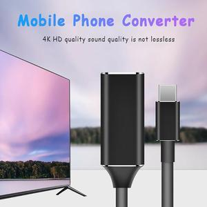 Image 3 - USB C Hub Type C Naar Hdmi Hd Tv Adapter Usb 3.1 4K Converter Voor Pc Laptop Digitale Draad staaf
