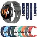 Сменные ремешки для часов Huawei Watch GT 2 46 42 мм, силиконовый браслет GT2 для Huami Amazfit GTR 42 47 мм, официальный стиль, браслет