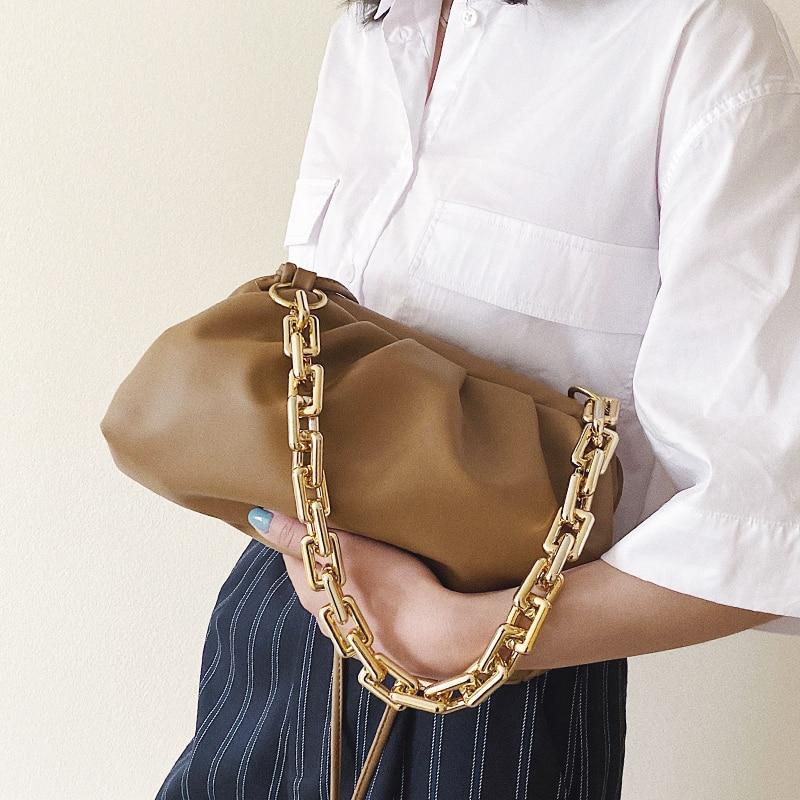 Bag For Women Cloud bag Soft Leather Hobos Bag Single Shoulder Dumpling Crossbody Bag Luxury Handbag And Purse Day Clutches