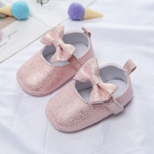 Shoes Sequins Non-Slip Newborn Baby-Girls Crib First-Walkers Soft-Soled Princess Sweet