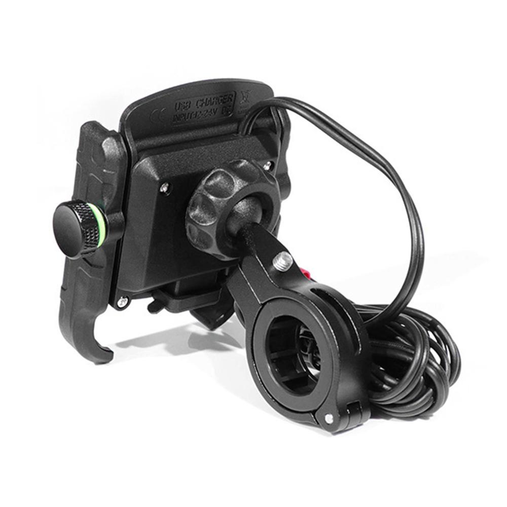 Купить с кэшбэком Cycling Pedal Motorcycle Navigation Charging Mobile Phone Support QC3.0 Fast Charging Belt Switch Waterproof  Multifunctional