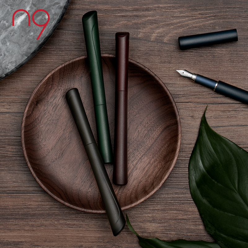 Chinese Style N9 ABS Matte Fountain Pen Dao Yi Unique Original Writing Gift Set Iridium EF Nib Ink Pen For Business Birthday