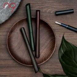 Estilo chino N9 ABS pluma estilográfica mate Dao Yi único regalo de escritura Original Set iridio EF Nib pluma de tinta para negocios cumpleaños