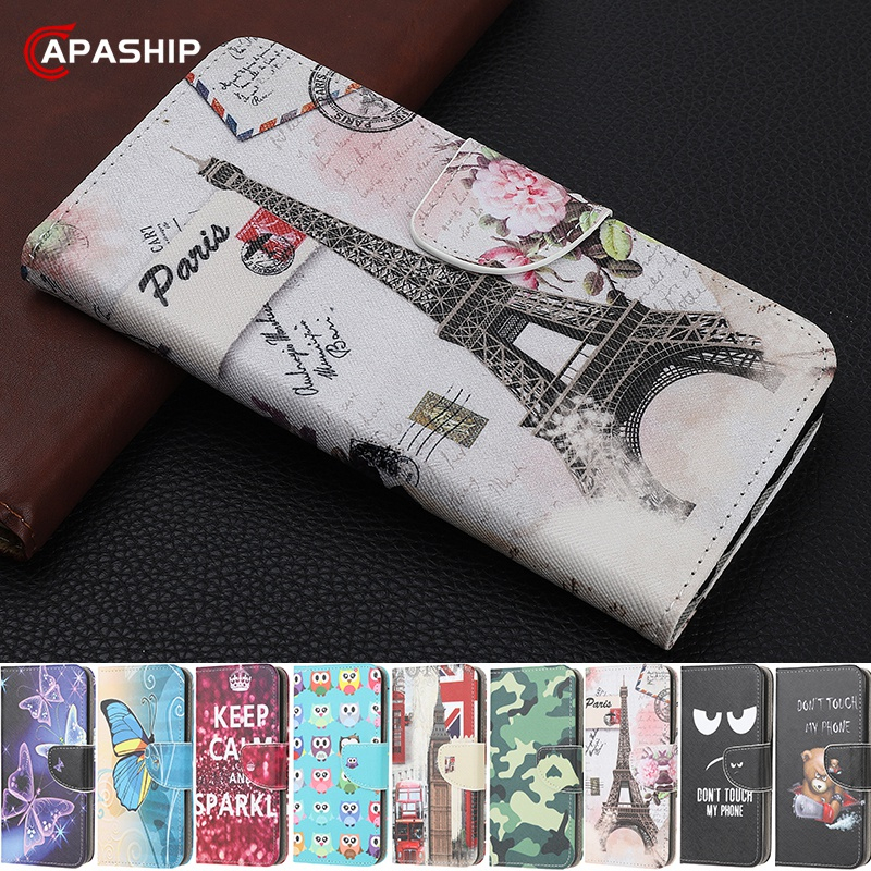 3D Cartoon Butterfly Leather Flip Case For Samsung Galaxy A20S A21S A30 A50 A20E A70E A01 A21 A41 A51 A71 M21 Wallet Stand Cover