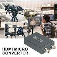 Micro Converter HDMI To SDI With Power Mini 3G HD 1080P SD-SDI Video Converter Adapter Auto Format Detection For Camera