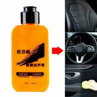 120ml Auto Renovated Coating Paste Car Seat Maintenance Agent Long Lasting Non polluting Leather Repair Cream|Paint Cleaner|Automobiles & Motorcycles -