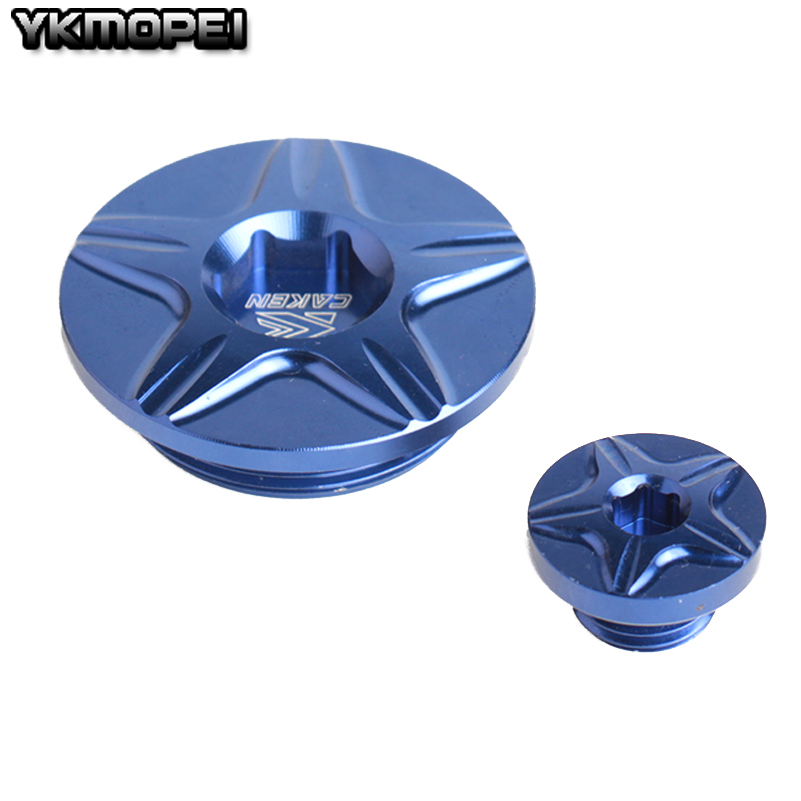 CNC Engine Timing Oil Filter Plugs Bolts for Yamaha YZ250F YZ450F WR250X WR250R