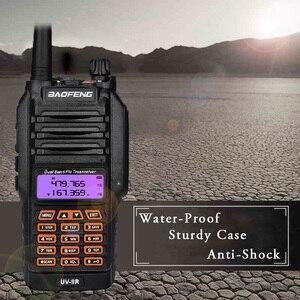 Image 5 - 8W Baofeng UV 9R IP67 Waterproof Dual Band Ham Radio Walkie Talkie 10KM UV 9R Plus UV XR UV 9R transceiver UHF VHF radio station