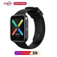 Allcall gta androidスマート腕時計レディースメンズ腕時計スポーツフィットネスブレスレット心拍数モニタースマートウォッチxiaomiサムスンiphone