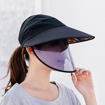 Protection Face Masks Hat Helmet Isolation Respirator Anti Spittle UV Surgical Safety Shield Work Sun Hat For Women Casual