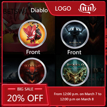 Coin Nfc Tag Goblin Diablo 3-Of-Amibo Ns-Switch Monster Ntag215 New Loot 2pcs/Lot Data-Seting
