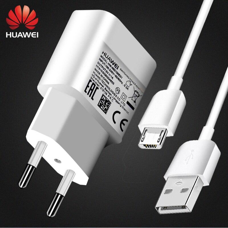 Usb зарядное устройство HUAWEI P8 G9 lite, 5 в 1 А, кабель Micro USB для передачи данных, настенный дорожный адаптер, адаптер, maimang4 P6 P7 P8 honor 4 5 6 G7 8 9 Plus