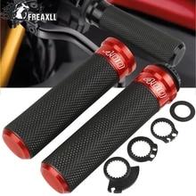 For Ducati Scrambler 400 2016 2017 2018 2019 7/8 22mm Universal Motorcycle Handle Handlebar Hand Bar Grip With LOGO