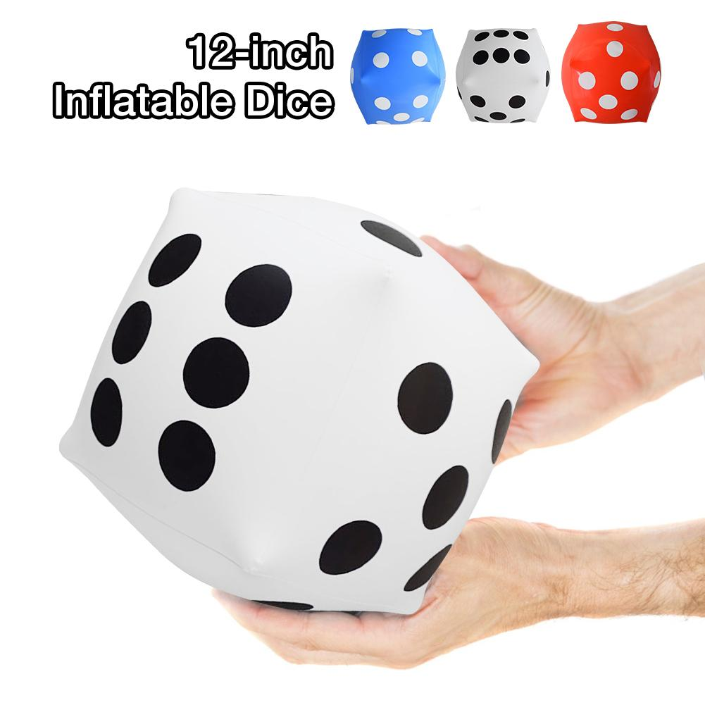 Dice Educational Toys 30cm Child Toy Inflatable Dice Jumbo Large Inflatable Dice Dot Diagonal Toy Party Air