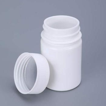 1PC 15/20g Plastic PE White Empty Seal Bottles Containers Packing Pill Medicine Reagent Powder Vials J7V5 image