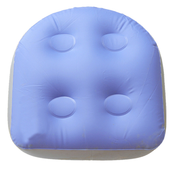 Multifunction Bathtub Pillow Hot Tub Relaxing Practical Massage Mat Spa Cushion Inflatable Soft Back Sauna Room Pad Booster Seat