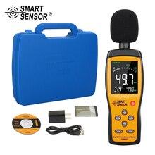 Цифровой ЖК-дисплей измеритель уровня шума звука аудио/измеритель громкости 30-130 дБ децибел Тестер измеритель уровня звука AS844