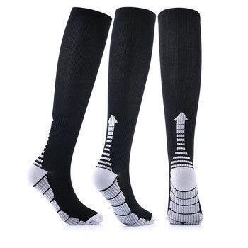 Compression Socks for Men Women - Best Stockings for Running Socks Hotsale Athletic Edema Diabetic Varicose Veins Travel Socks