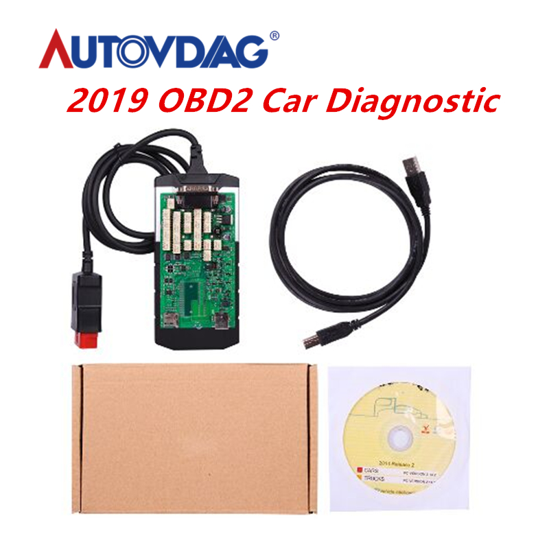 2020 OBD2 Car accessories Diagnostic <font><b>Tool</b></font> Single Green double PCB Board 2015 <font><b>R3</b></font> 2016 R1 Keygen Software for Cars and Trucks image