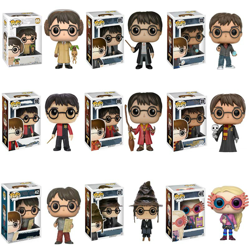 Funko Pop Harri Potter And The Philosopher's Stone Hermione Vinyl Action Figure Collectible Model Toy For Kids Christmas Gift
