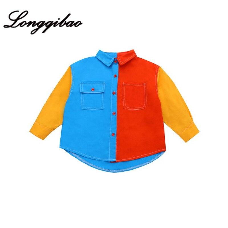 camisa no grande moda das criancas camisa 05