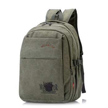 цена на Outdoor Travel Luggage Army Bag Canvas Hiking Camping Tactical Rucksack Men Military Backpack Solid Color Military Tactical Bag