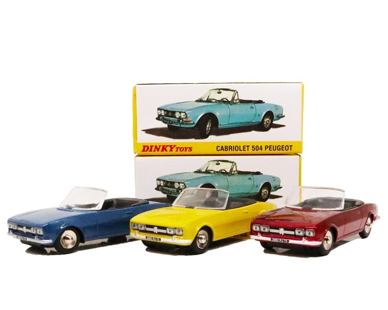 1:43 Dinky Toys Peugeot 504 CABRIOLET Diecast Model Car