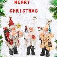 Christmas Santa Claus Doll Toy christmas decorations for home christmas tree decorations Xmas Gift