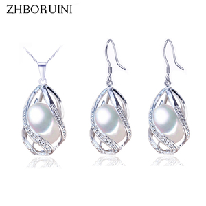 ZHBORUINI Pearl Jewelry Set 92