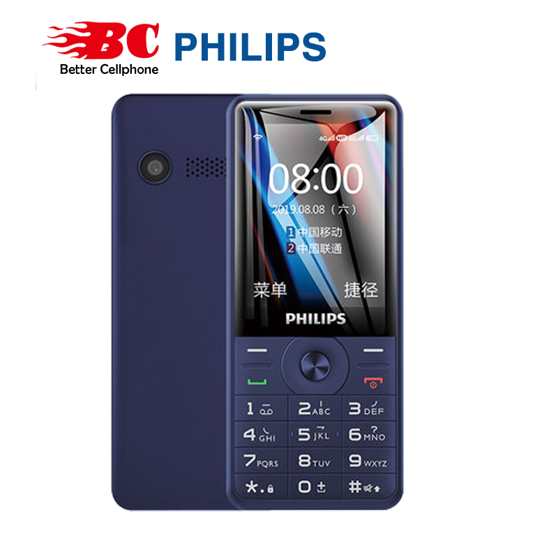 Philips E517 Keyboard Phone 4gb GSM New Battery Dual-Sim Memory-Card Original FM 1700 title=