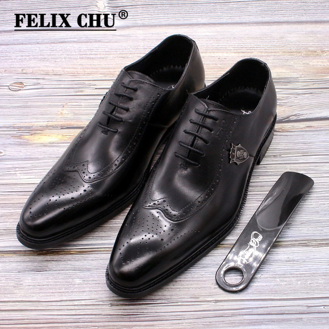 Luxury classic mens formal footwear wedding party Shoes 2