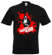Texas Chainsaw Massacre Horror Movie T Shirt sbz3477
