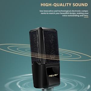Image 5 - FELYBY BM1000 Professional Condenser Microphone for Computer/Laptop/PC Audio Studio Karaoke  Recording bm 800 Upgraded Mikrofon
