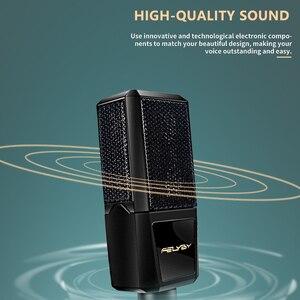 Image 5 - FELYBY BM1000 Professional คอนเดนเซอร์ไมโครโฟนสำหรับคอมพิวเตอร์/แล็ปท็อป/PC Audio Studio บันทึกคาราโอเกะ BM 800 อัพเกรด Mikrofon