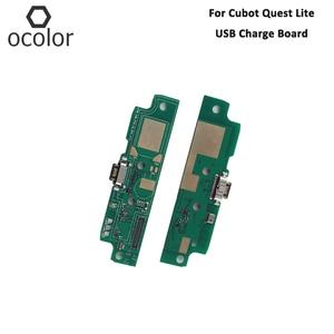 Image 1 - Ocolor Cubot 퀘스트 라이트 USB 충전 보드 어셈블리 수리 부품 Cubot 퀘스트 라이트 USB 보드 전화 액세서리