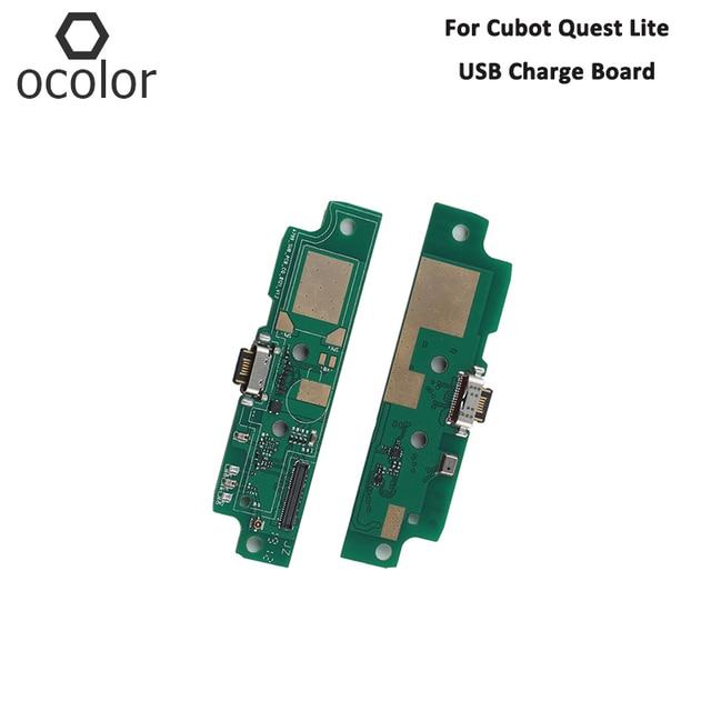Ocolor Cubot 퀘스트 라이트 USB 충전 보드 어셈블리 수리 부품 Cubot 퀘스트 라이트 USB 보드 전화 액세서리