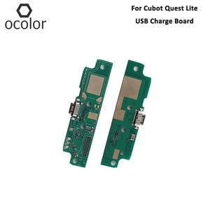 Image 1 - ocolor For Cubot Quest Lite USB Charge Board Assembly Repair Parts For Cubot Quest Lite USB Board Phone Accessories